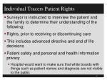 individual tracers patient rights2