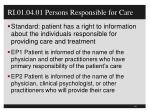 ri 01 04 01 persons responsible for care
