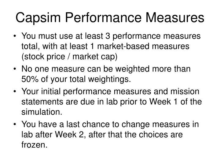 capsim mission statement