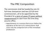 the prc composition