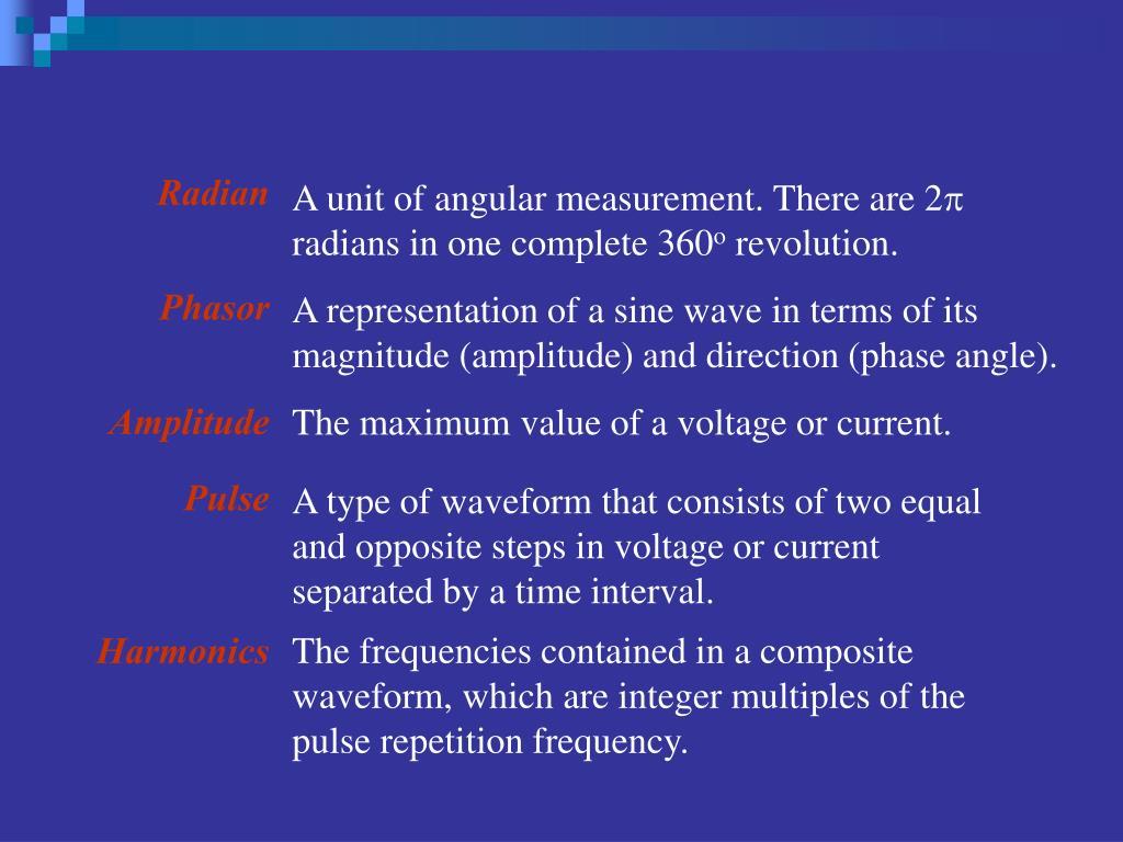 PPT - Sine waves PowerPoint Presentation - ID:5271989