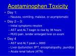 acetaminophen toxicity1