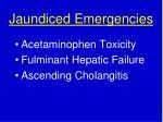 jaundiced emergencies