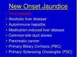 new onset jaundice1