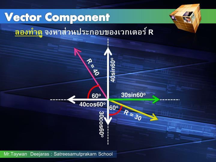 Vector Component