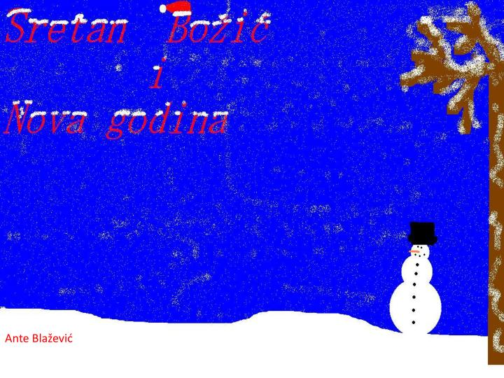 Estit bo i i sretnu novu 2012 g odinu p o eljeli su vam 5 r azredi o cavtat