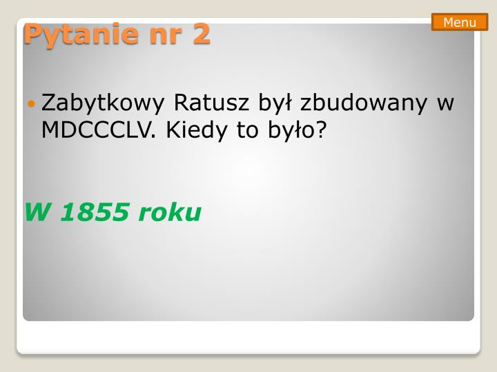 Pytanie nr 2