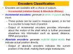 encoders classification