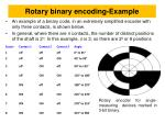 rotary binary encoding example
