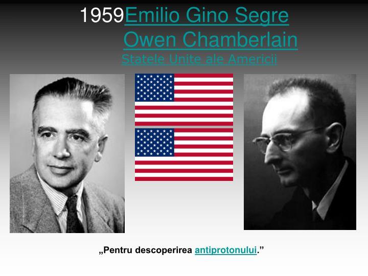 Emilio Gino Segre