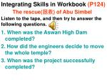 integrating skills in workbook p124