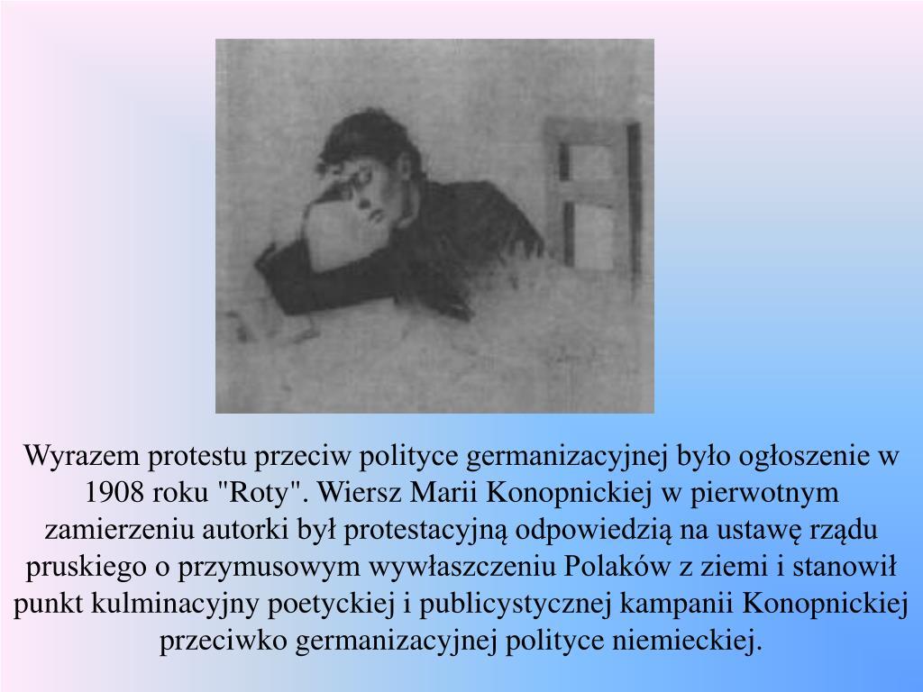 Ppt Maria Konopnicka Poetka Nowelistka Pisarka Dla