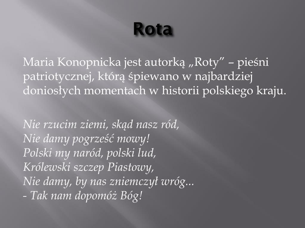 Ppt Maria Konopnicka Powerpoint Presentation Free