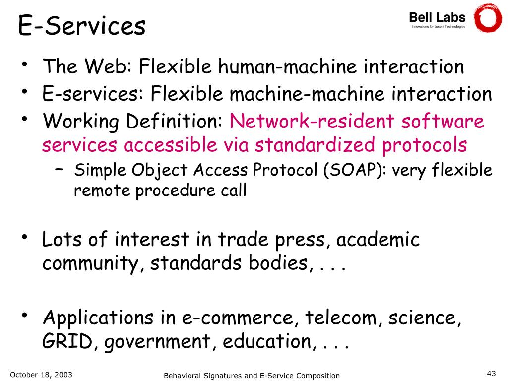 PPT - Rick Hull Bell Labs Research PowerPoint Presentation