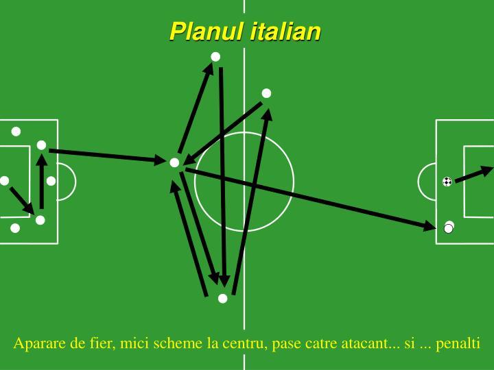 Planul italian