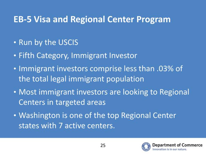 EB-5 Visa and Regional Center Program