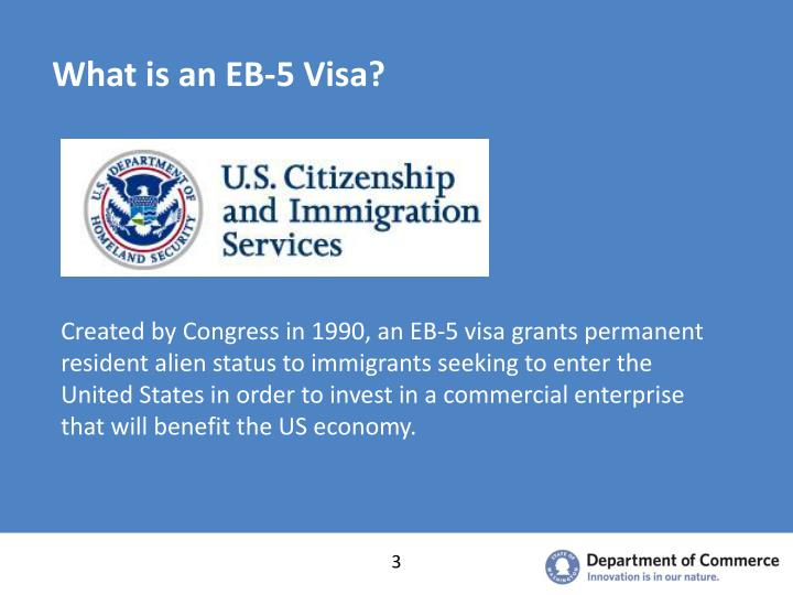 What is an eb 5 visa