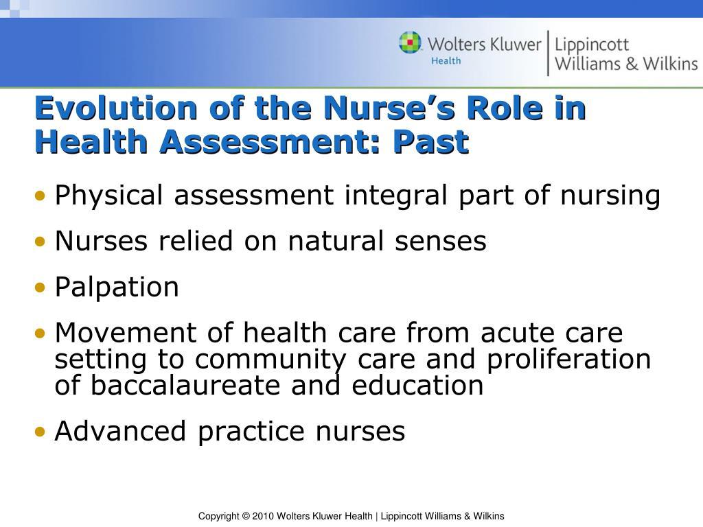 PPT - Weber Health Assessment in Nursing PowerPoint