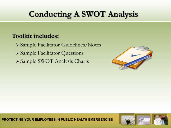 conducting a swot analysis n.