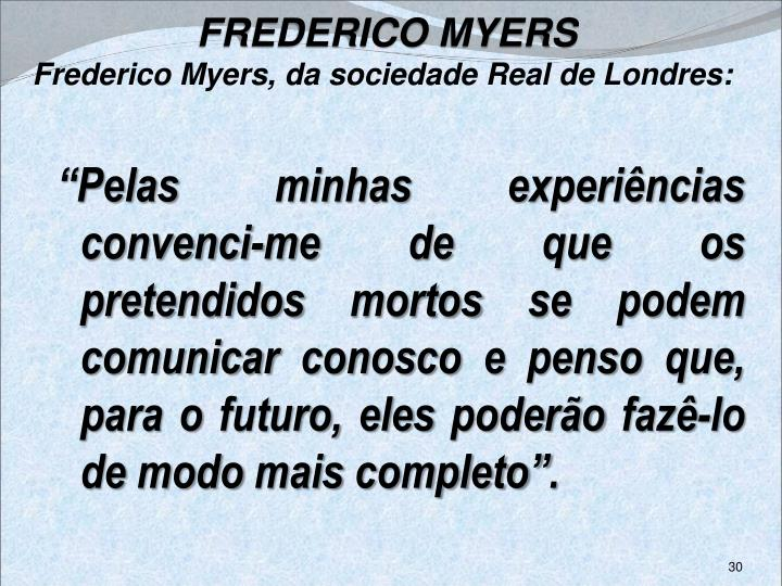 FREDERICO MYERS
