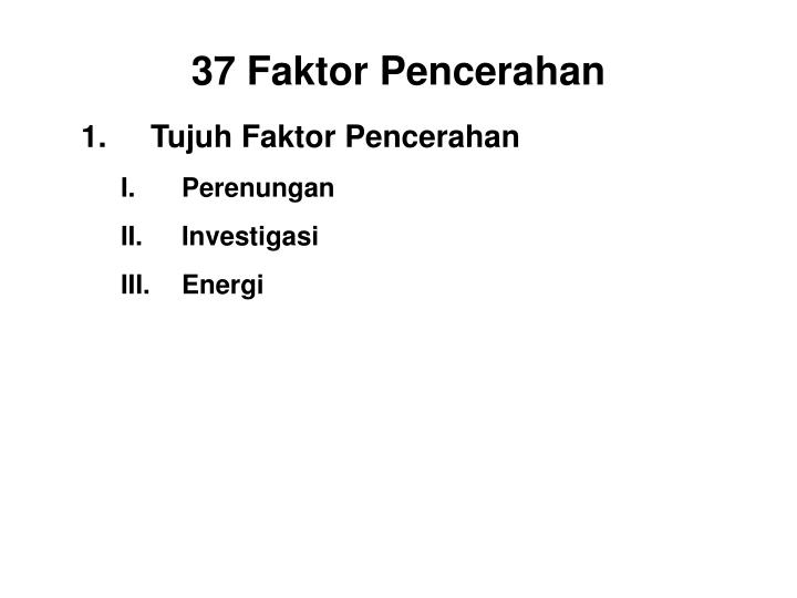 Tujuh Faktor Pencerahan