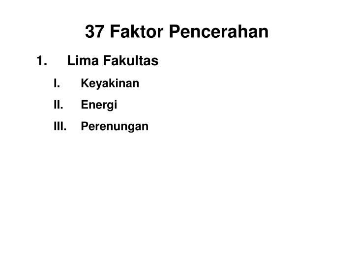 Lima Fakultas
