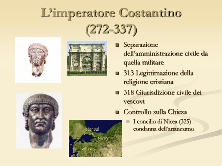 L'imperatore Costantino