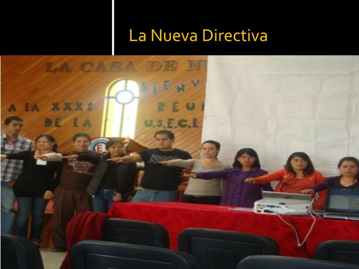 La nueva directiva