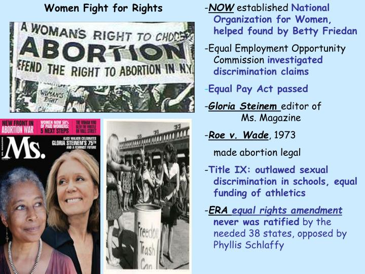 Women Fight for Rights