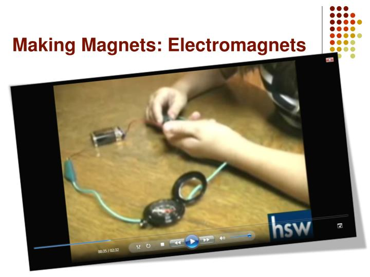 Making Magnets: Electromagnets