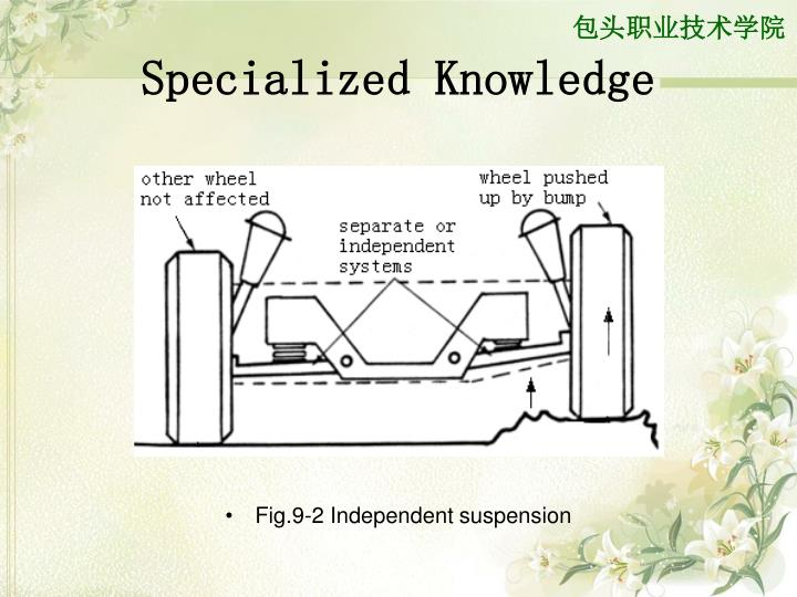 Specialized Knowledge