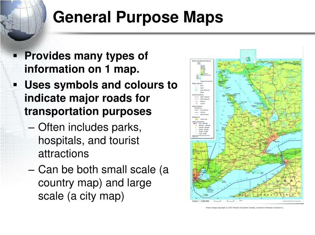 what is the purpose of a topographic map
