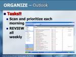 organize outlook5