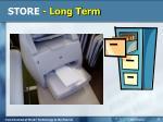 store long term2