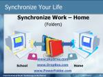 synchronize your life1