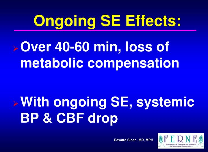Ongoing SE Effects: