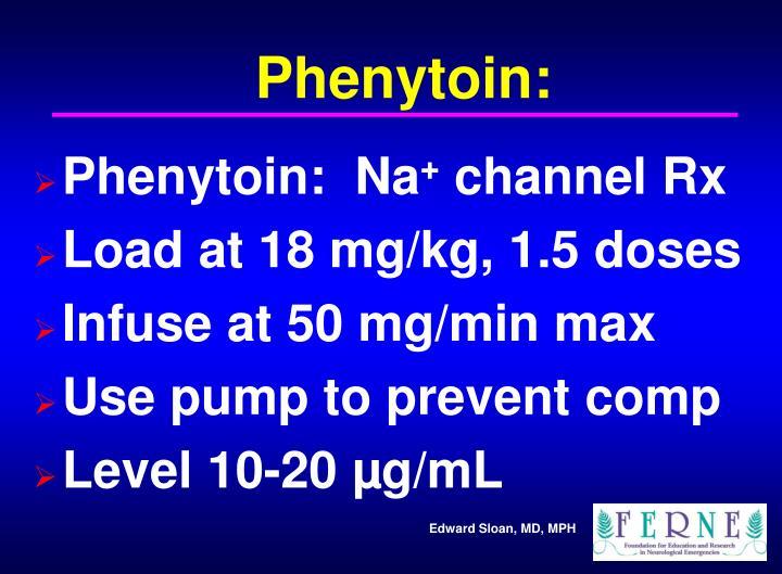 Phenytoin: