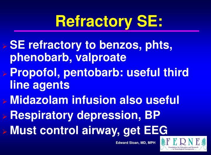 Refractory SE: