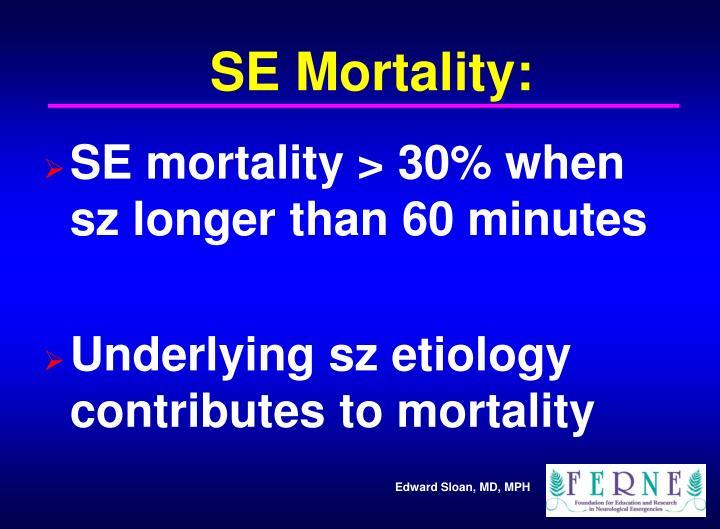 SE Mortality: