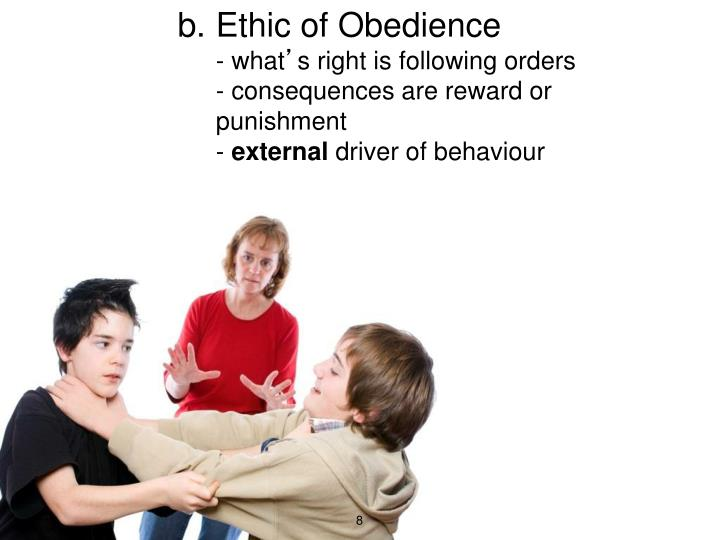 Ethic of Obedience