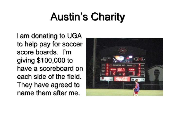 Austin's Charity