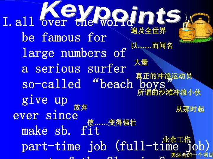 Keypoints