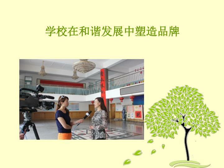学校在和谐发展中塑造品牌