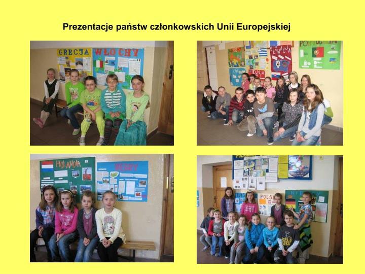 Prezentacje państw członkowskich Unii Europejskiej