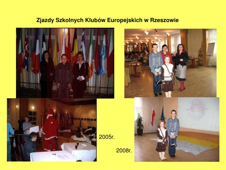 Zjazdy Szkolnych Klubów Europejskich w Rzeszowie