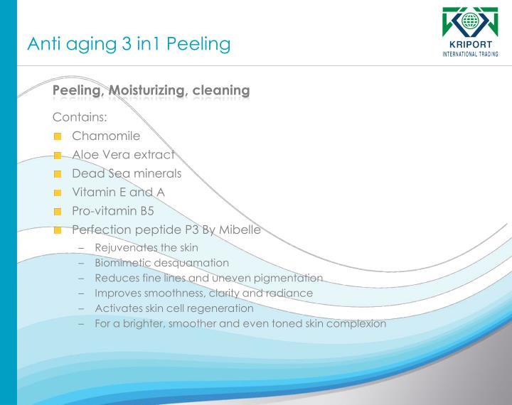 Anti aging 3 in1 Peeling