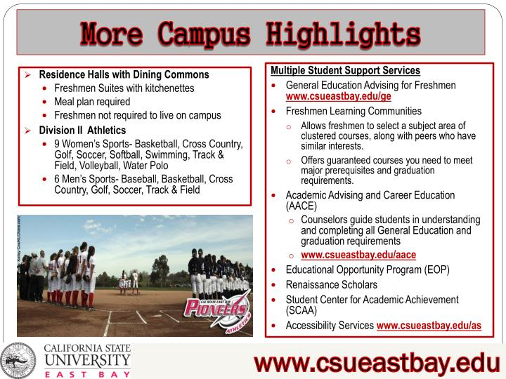 More Campus Highlights