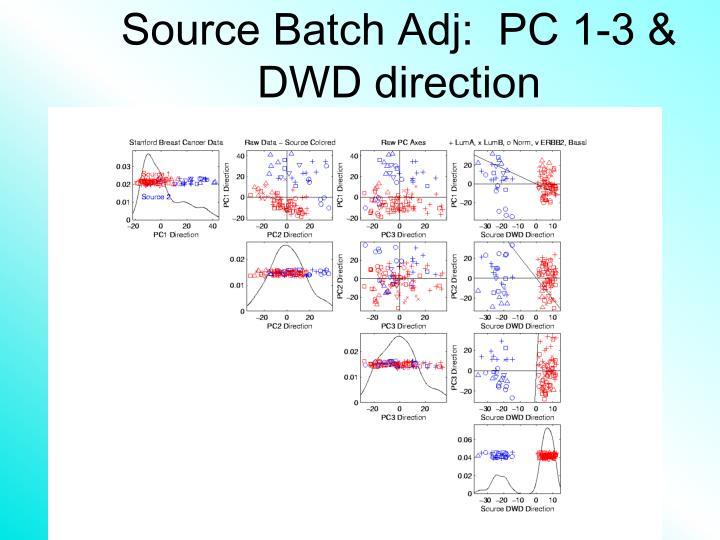 Source batch adj pc 1 3 dwd direction