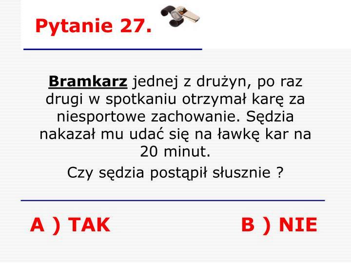 Pytanie 27.