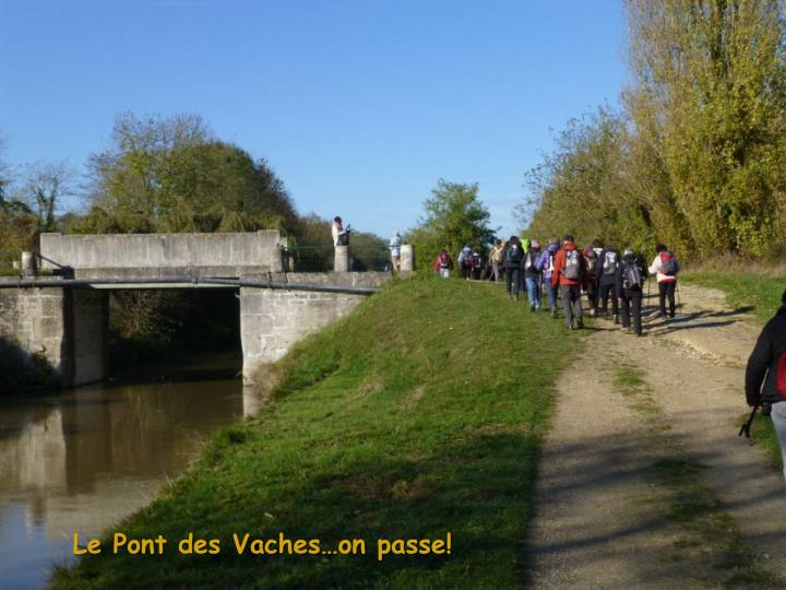 Le Pont des Vaches…on passe!